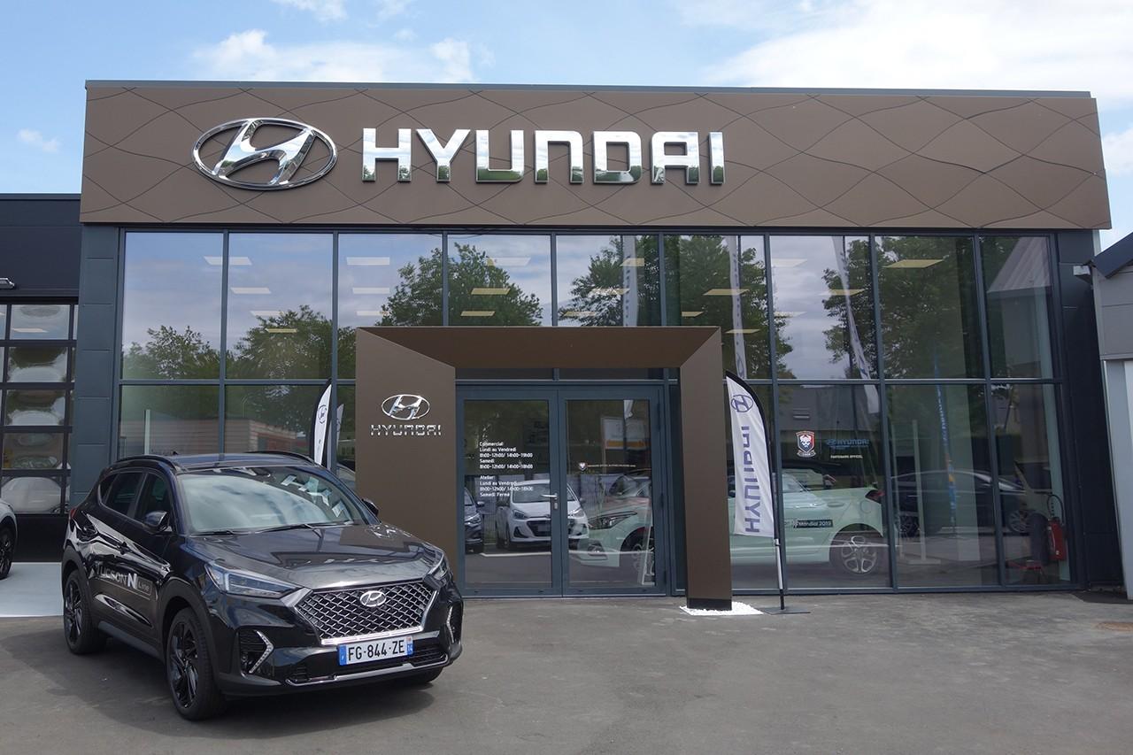 Entree Hyundai Bayeux