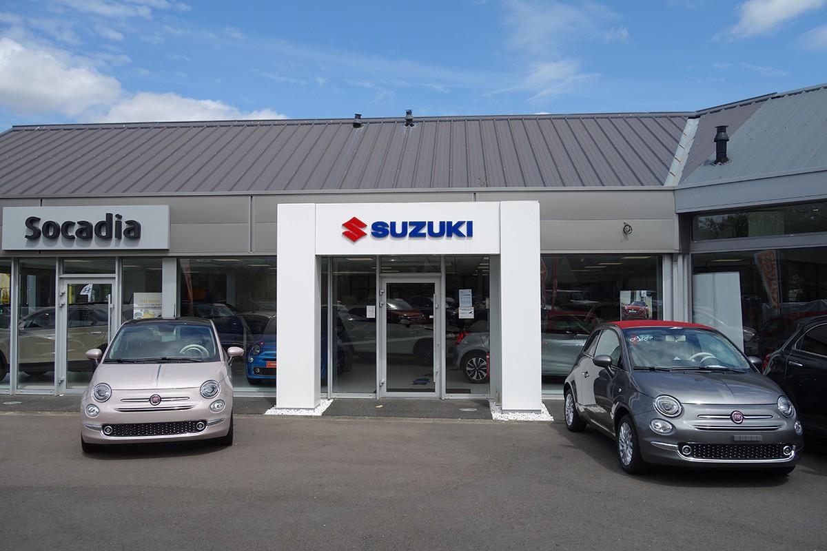 Façade Suzuki Bayeux