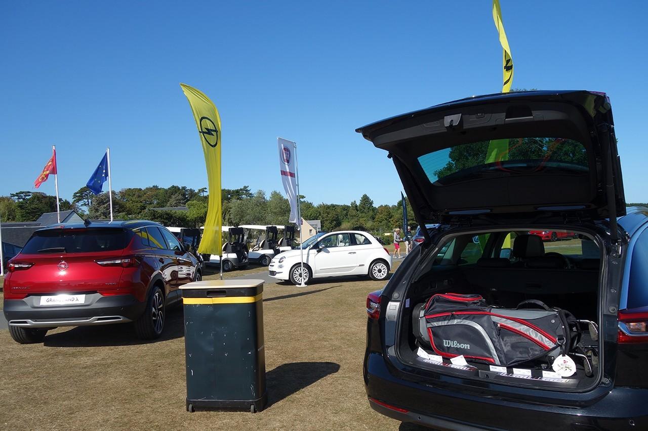 Polmar Cup Coffre Opel ouvert