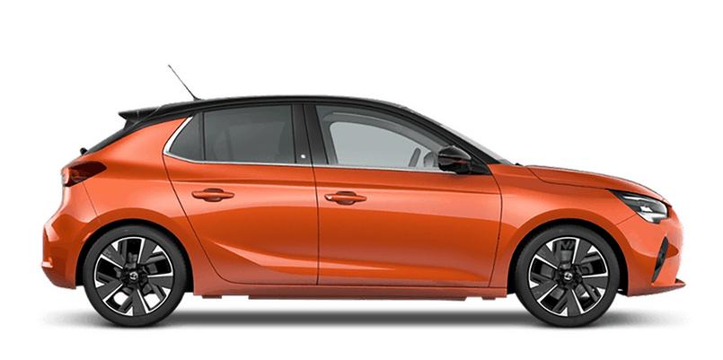 Nouvelle Corsa Profil Orange