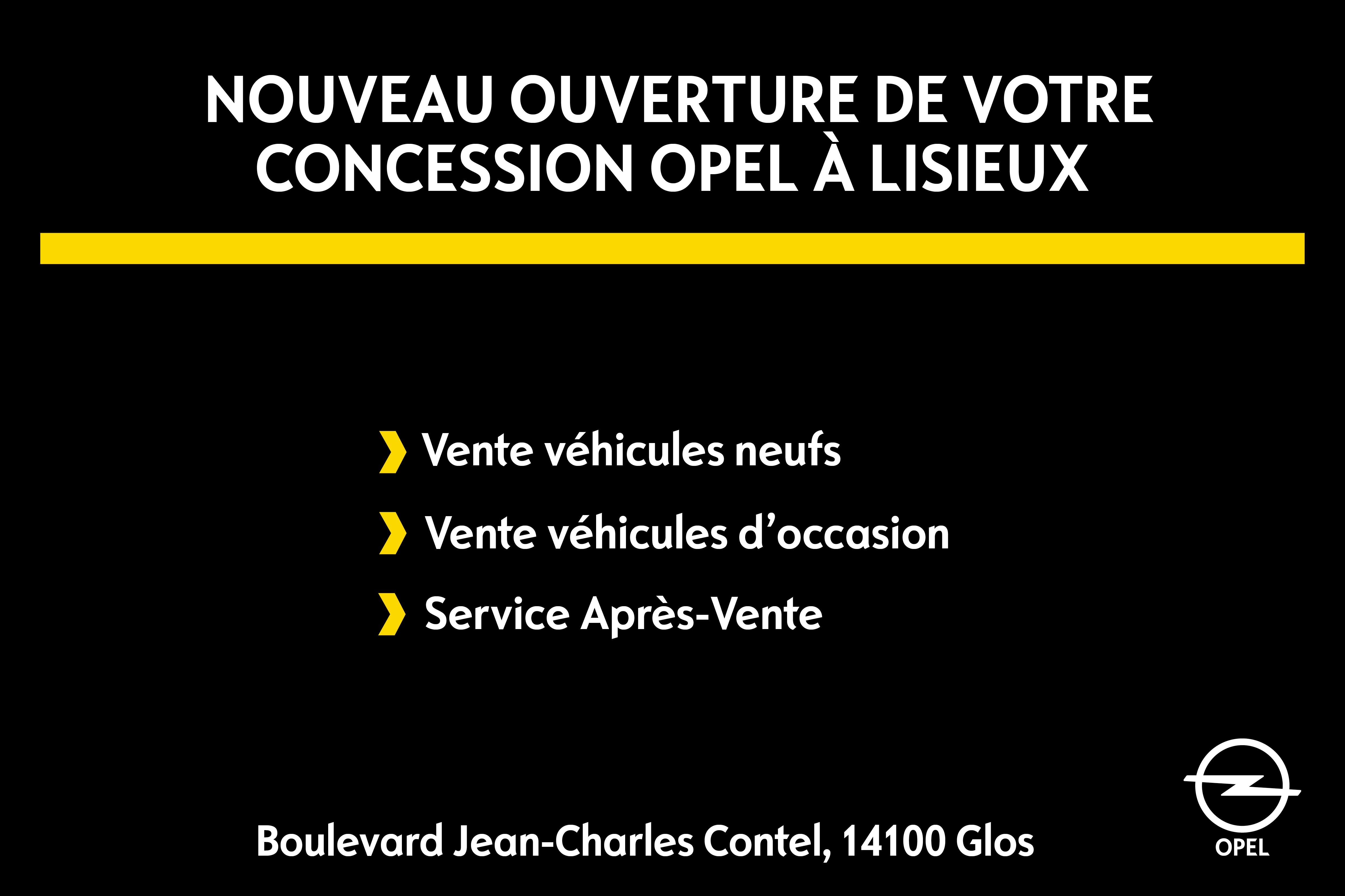 Nouveau Opel Lisieux
