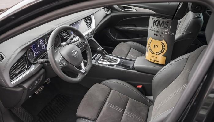 Opel Insignia : élue routière business 2021 par KILOMETRES ENTREPRISE