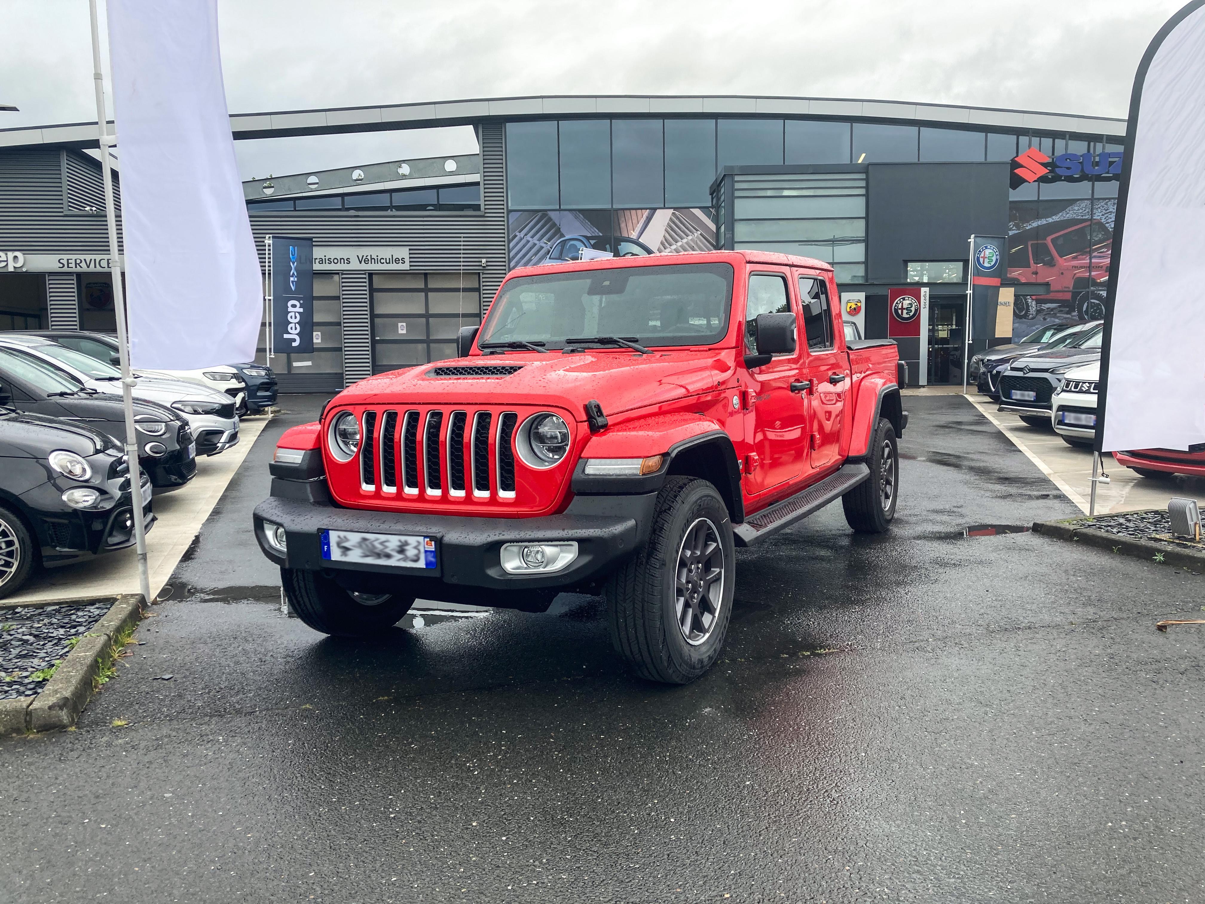 Découvrez dans votre concession Socadia, le Nouveau Jeep Gladiator Overland Launch Edition 2021